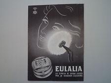 advertising Pubblicità 1946 EULALIA CIPRIA