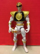 MMPR 20th Anniversary White Power Ranger Action Figure Bandai Megaforce #35175