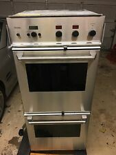 """Thermador 27"""" Oven CMT227N CMT127N Front Panel Black Knob """"Lower or Upper Oven """""""