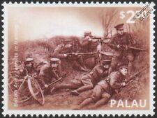 Primera Guerra Mundial 1914 Ejército Británico reclutas (bicicleta entrenamiento ejercicio Sello de batalla de infantería)