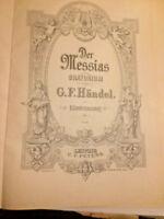 "Händel - "" Der Messias ""  Klavierauszug __ gebunden"