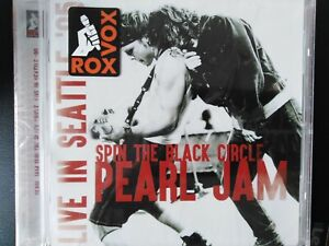 Pearl jam Cd Spin the black circle Live
