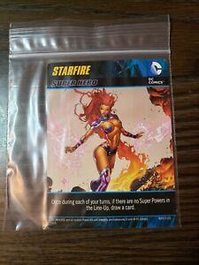 DC Comics Deck Building Game: STARFIRE Super Hero Promo Card Cryptozoic Ent