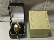 NEW DIOR TENDRE POISON PERFUME BOTTLE SHAPED BROOCH PIN Gold Plated NO PERFUME.