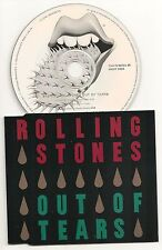 ROLLING STONES OUT OF TEARS 4 TRACK PICTURE CD SINGLE 1994