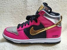 Nike ID Zoom Ladies High Top Street trainers Leather Multicoloured UK 4 EUR 37.5