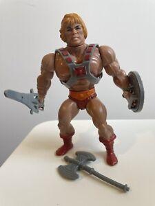 HE-MAN - MOTU Masters of the Universe - Mattel He-Man 1981 - Rare Vintage