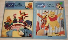 Leisure Arts Pooh All Aboard & Wall Decor in Plastic Canvas Tigger Piglet