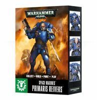 Warhammer 40k Space Marines Easy to Build Primaris Reivers NIB