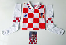 Slaven Bilic - Croatia National Football Team Shirt & Socks - Player Issue 1996!