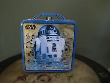 THE TIN BOX COMPANY STAR WARS R2D2 CARRY ALL 5.75 X 2.5 X 5.75 MOVIES CARDS TOYS