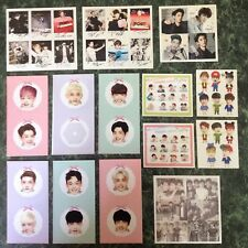 EXO Kpop Photo Sticker Lot~Korean Music~Chanyeol~Kris~Kai~Sehun~FANDOM Set~Nice!