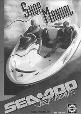 Sea-Doo Service Workshop Manual 1996 Speedster, Sportster, Challenger & Explorer