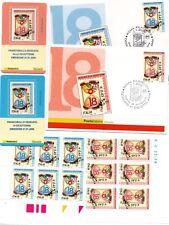 LOTTO Repubblica 2006 Cartoline, buste, tessere e sestine DICIOTTENNI Rosa  BLU