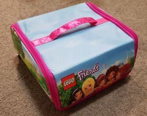Lego Friends Bag, lunchbox,  brick storage