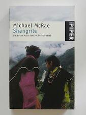 Michael McRae Shangrila die Scuhe nach dem letzten Paradies Piper Verlag