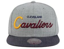 090c4975080c61 Cleveland Cavaliers Mitchell & Ness Tri Pop Script Red Gray Snapback Hat  Cap NBA