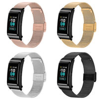 For Huawei Talkband B5 Watch Stainless Steel Magnetic Wrist Watch Strap Band