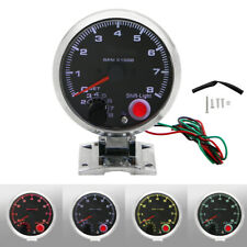 "12V Car Tacho Gauge 3.75"" Inch Tachometer Tacho Gauge With Shift Light 0-8000RPM"