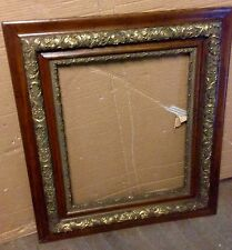 Super Oak & Gold Victorian Picture Frame