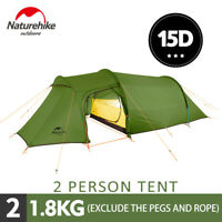 Naturehike Ultralight Backpacking Camping Tunnel Tent Hiking 2-4 Person 4 Season