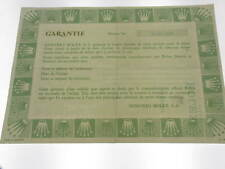 Rolex certificate serial number 5.140.897 genuine garanzia certificato originale