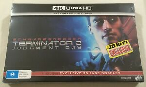 Terminator 2: Judgment Day 4K (1991) - Collector's Set Blu-Ray Region Free | New