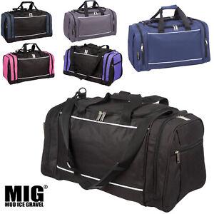 Mens & Ladies Sports & Gym Duffle Holdall Bag - SPORTS WORK LEISURE TRAVEL BAGS