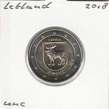 Letland 2 euro 2018 UNC : Zemgale