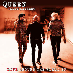 QUEEN & ADAM LAMBERT - Live Around The World EP  RSD 2021 Drop 2