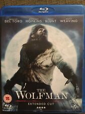 The Wolfman Extended Cut English  Blu Ray