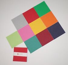 "Mini Dots Polka Dots Bright Colors Charm Pack Quilt Fabric 40 pieces 5"" squares"