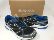 NEW! HI-TECH Men's Phantom Athletic Shoes Black/Royal/Grey Size:13 W6 z
