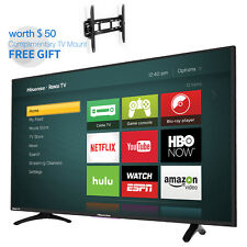 "HISENSE TV 40"" H4 Series Roku Smart Full FHD LED Backlight Free Wall Mount Gift"