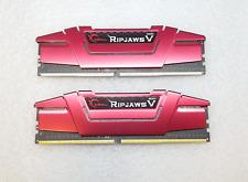 G.SKILL F4-3000C15D-16GVR Ripjaws V Series 16GB (2 x 8GB) 288-Pin DDR4
