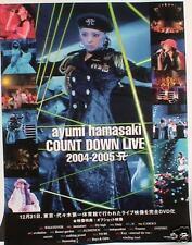 "AYUMI HAMASAKI ""COUNTDOWN LIVE"" JAPAN PROMO POSTER-Jpop"