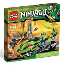 9447 LASHA'S BITE CYCLE Includes COLE lego legos set NEW ninjago NISB ninja
