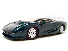 JAGUAR XJ 220 GREEN 1:18 DIECAST MODEL CAR BY MAISTO 31807