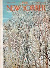 1959 Ilonka Karasz Art COVER ONLY - Tree view at the Ski Slope