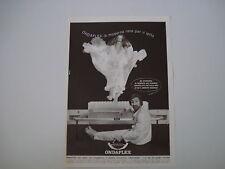 advertising Pubblicità 1973 RETE PER LETTO ONDAFLEX