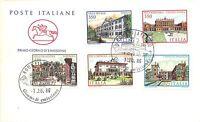 FDC - Cavallino - Ville d'Italia - Serie completa 5 valori -  1986