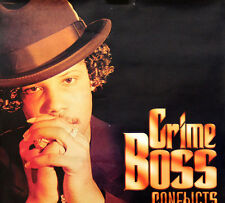 Crime Boss 2003 Conflicts & Confusion Houston Rap Original Promo Poster
