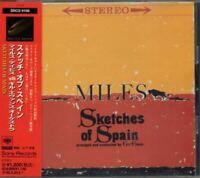 Miles Davis Sketches Of Spain JAPAN CD with OBI SRCS9108