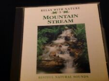 Mountain Stream CD Relaxation Meditation Music & Nature Wildlife, Babbling Water