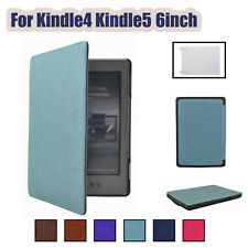Magnetic Leather Case Cover Skin For Kindle 4th and Kindle 5th 6inch + Free Gift