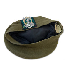 More details for tayforth university officers training corps tam o shanter - with badge - size:58
