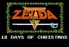 Christmas Holiday Decoration Nintendo Nes ZELDA LINK Santa Fridge Magnet #2
