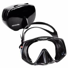 Atomic Aquatics Frameless 2 Scuba Mask Black Standard Fit