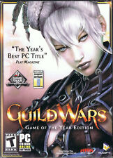 Guild Wars: Game of the Year Edition (PC, 2006, NCSoft, 2-Disc)