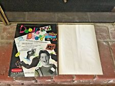 Vtg New 1990 Rubbermaid Doodle Board Sticks On Write On Punky Brewster 12 Sheets